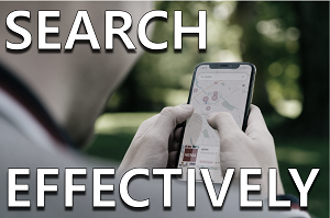 Search Effectively