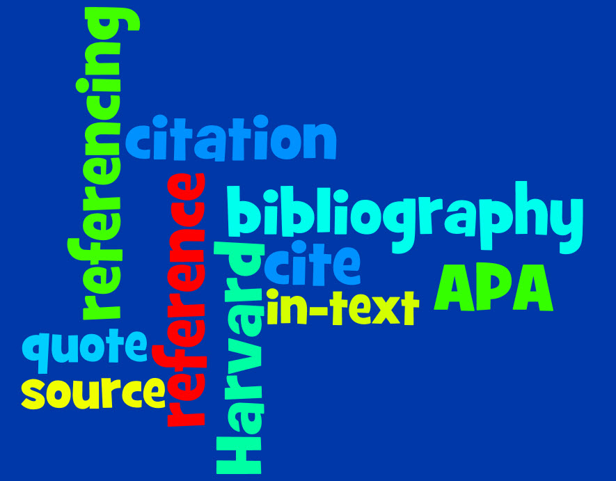 Referencing wordle by Robyn Collins