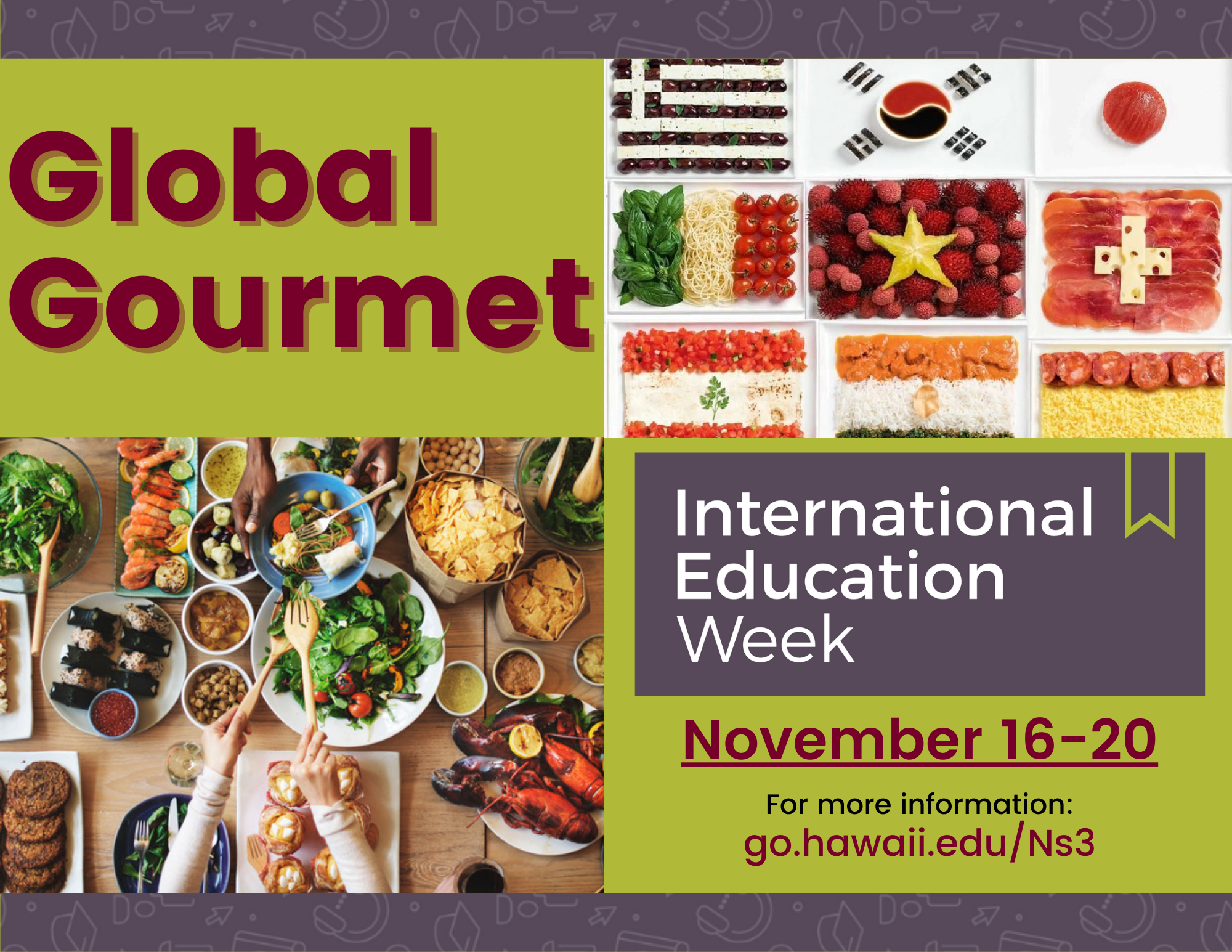 Global Gourmet Display Flyer