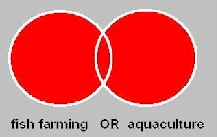 Two overlapping circles; the entire figure is red