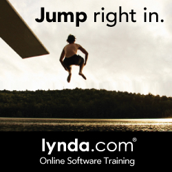 Jump right in to Lynda.com