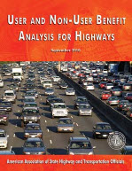User and Non-User Benefit Analysis for Highways - September 2010 (3rd Edition)​
