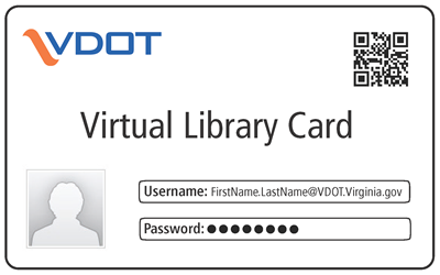 Image of the Virtual Library Card