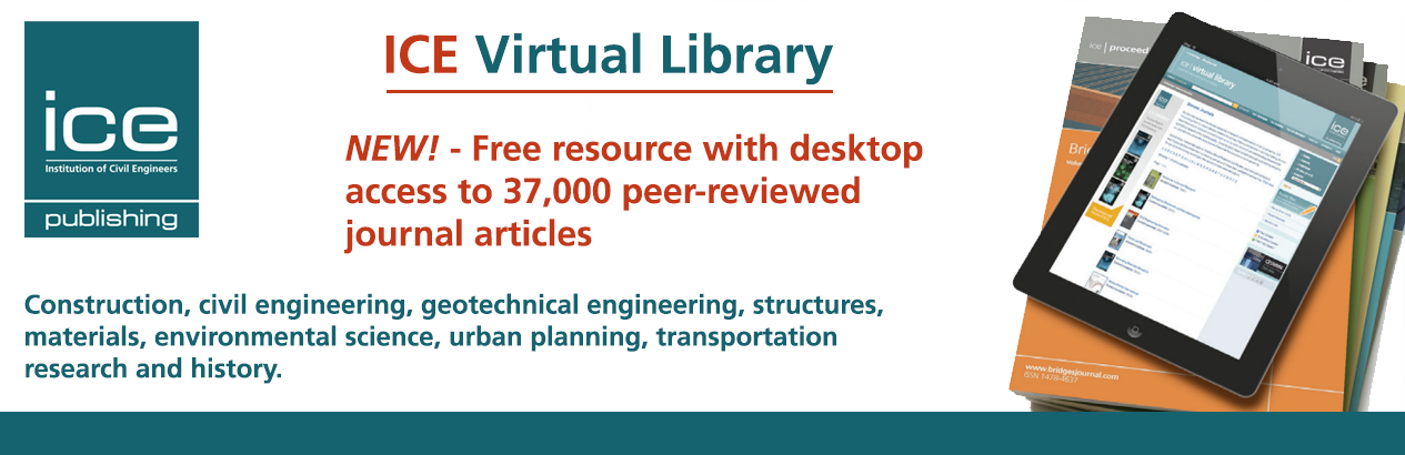 The library now provides VDOT employees with access to 37,000 engineering articles and papers in the ICE Virtual Library.