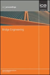 Thumbnail of proceedings of the institute of civil engineers-bridge engineering.