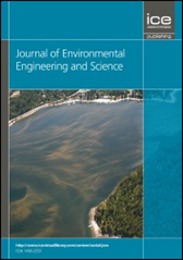 Thumbnail of the journal of Environmental Engineering and Science.