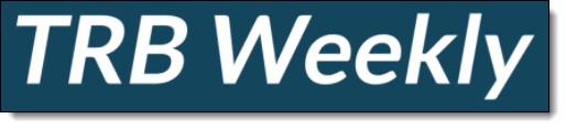 TRB Weekly Logo