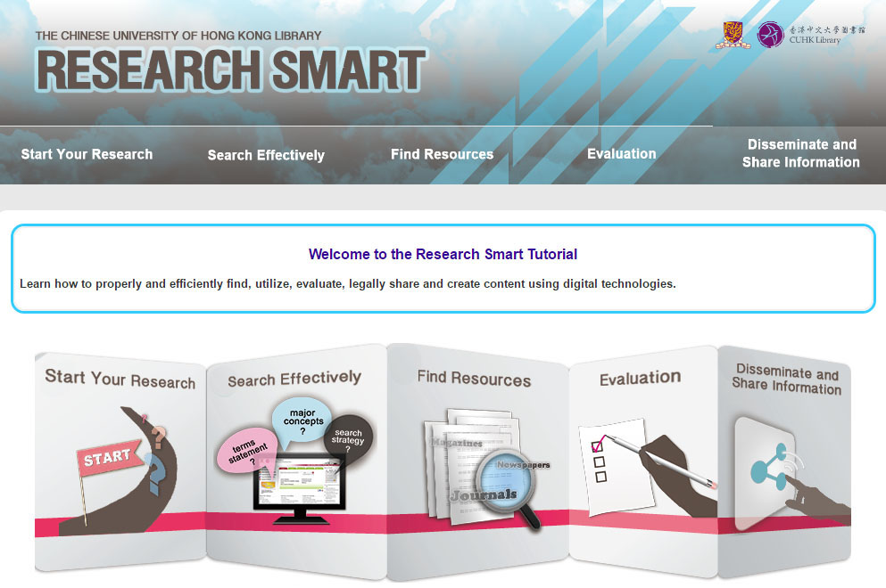 Research Smart Tutorial screen shot