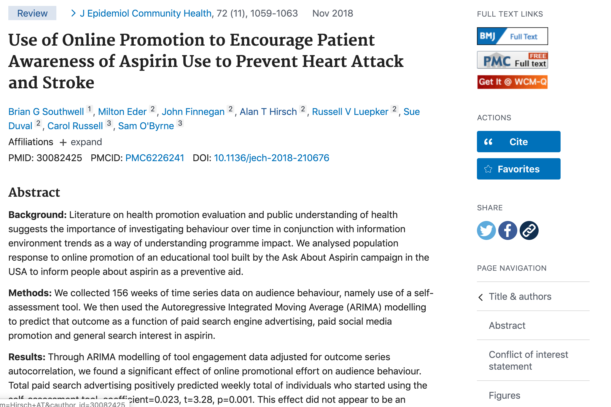 Article in PubMed