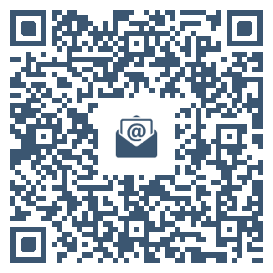 QR code to link to the Ask a Librarian email service