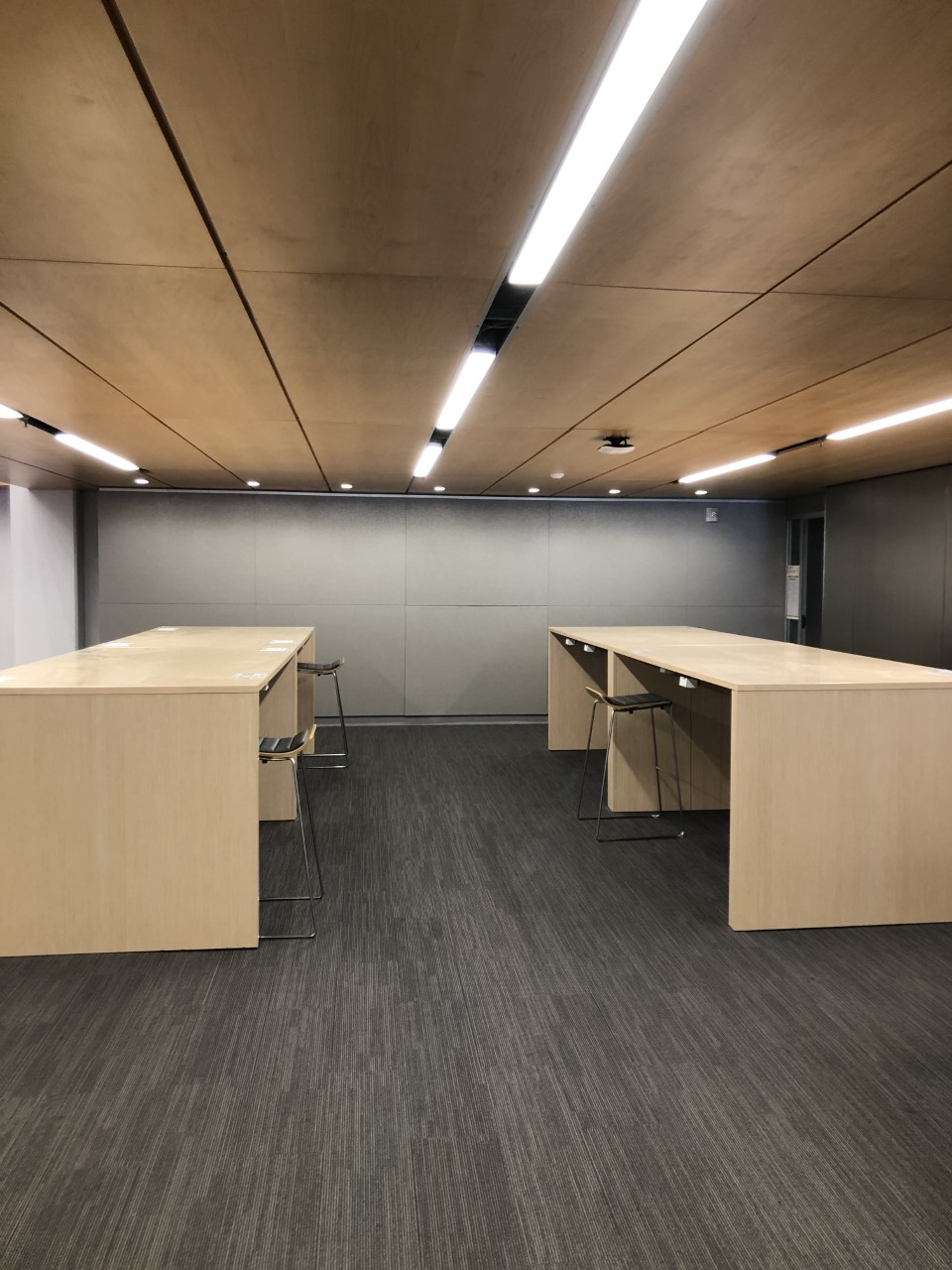 Library space; genius bar
