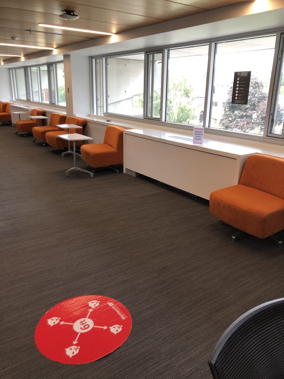 Library space; Quad Overlook