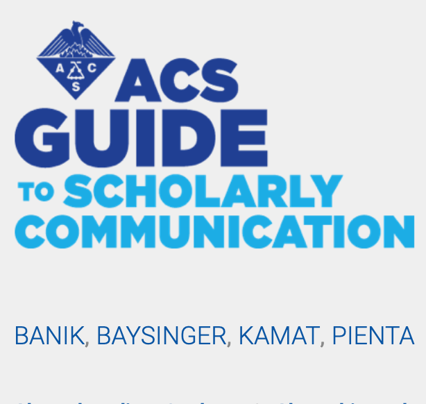 ACS Guide to Scholarly Communication