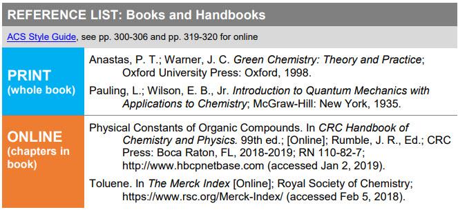 screenshot of ACS Quick Guide PDF