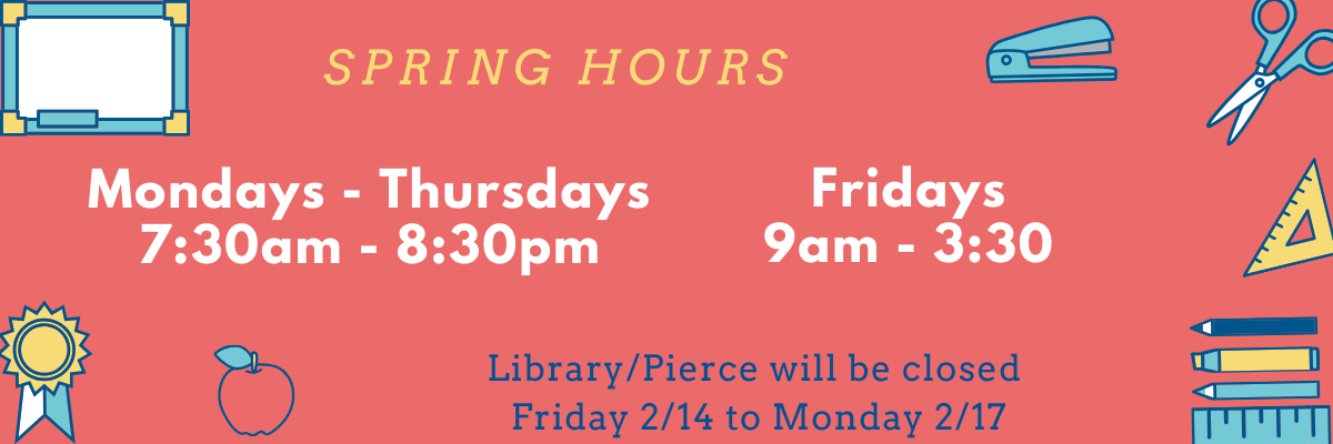 Library Hours link