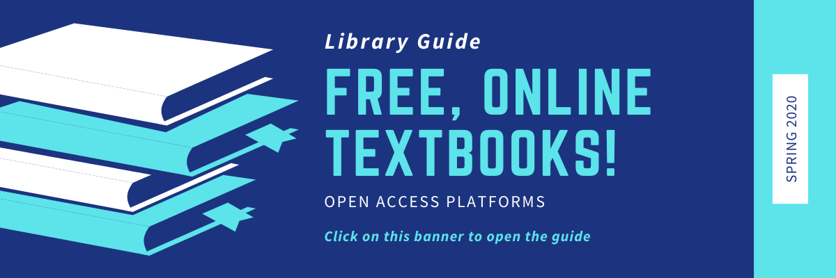 Guide to free textbooks online