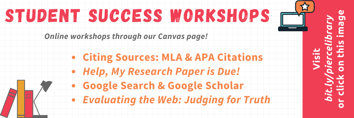 Research workshops offered in Canvas