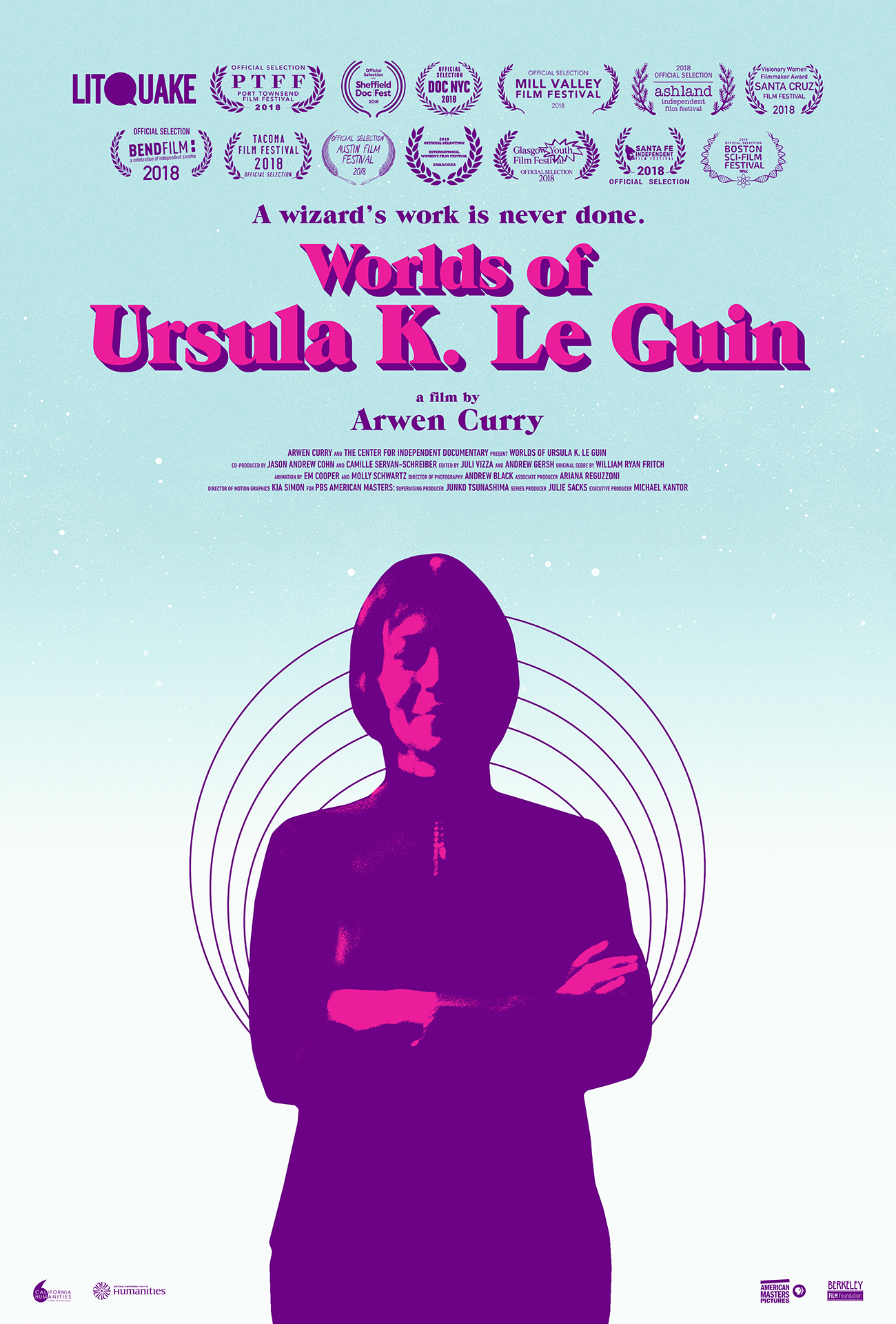 Worlds of Ursula K. Le Guin theatrical poster