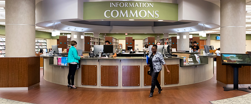 Dacus Library Information Commons