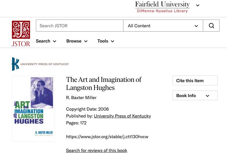 A screenshot of an eBook hosted on JSTOR.