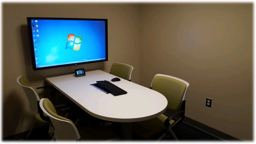 Click the button below to reserve a group study room at the rutherford campus library