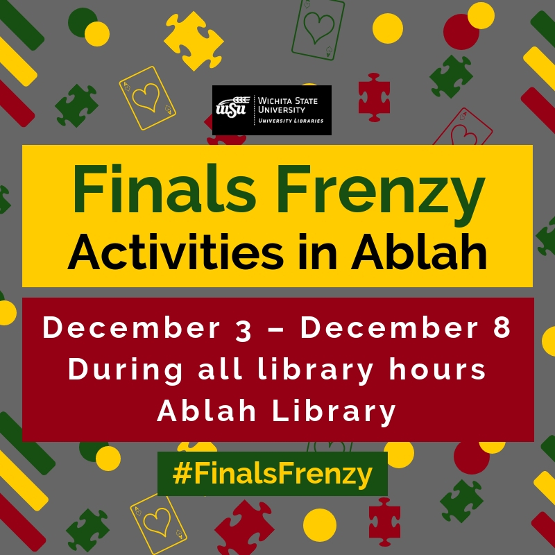 Finals Frenzy: Activities in Ablah