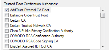 certificate authority screenshot