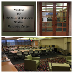 images of the Institute for Holocaust & Genocide Studies room