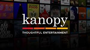 Logo for Kanopy streaming video database