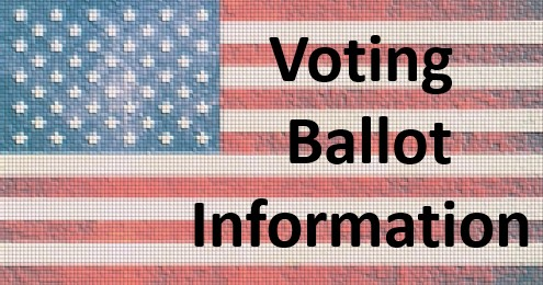 voting ballot information