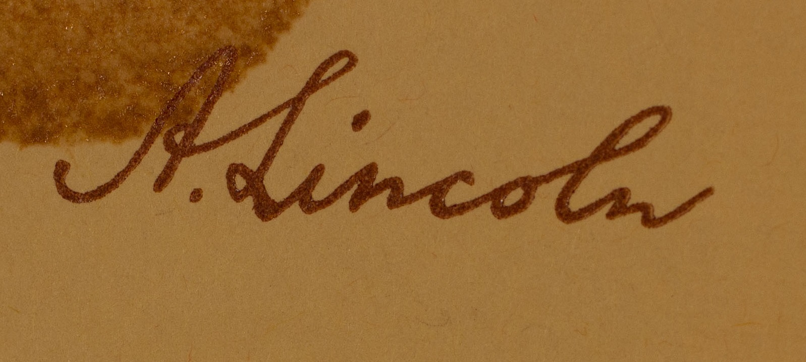 Abraham Lincoln's Devotional signed by President Lincoln