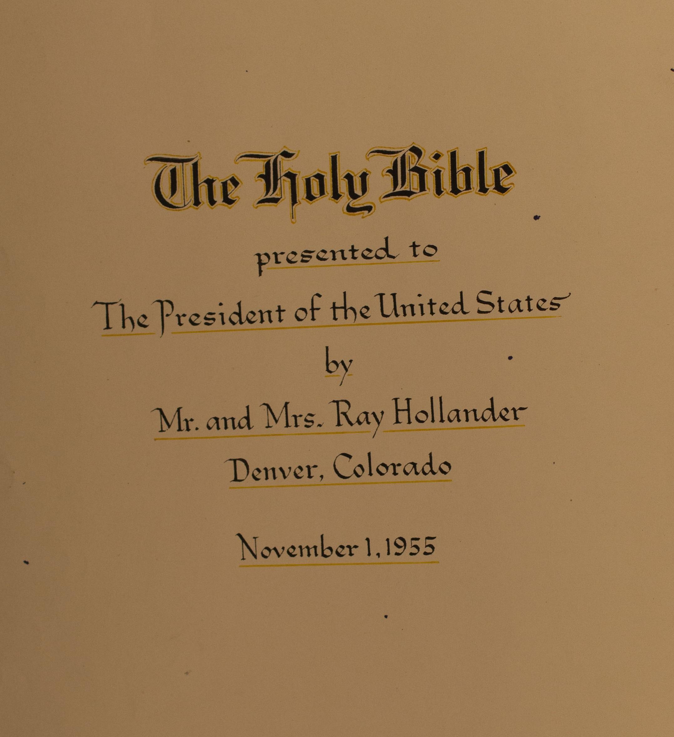 The Blue Ribbon Bible