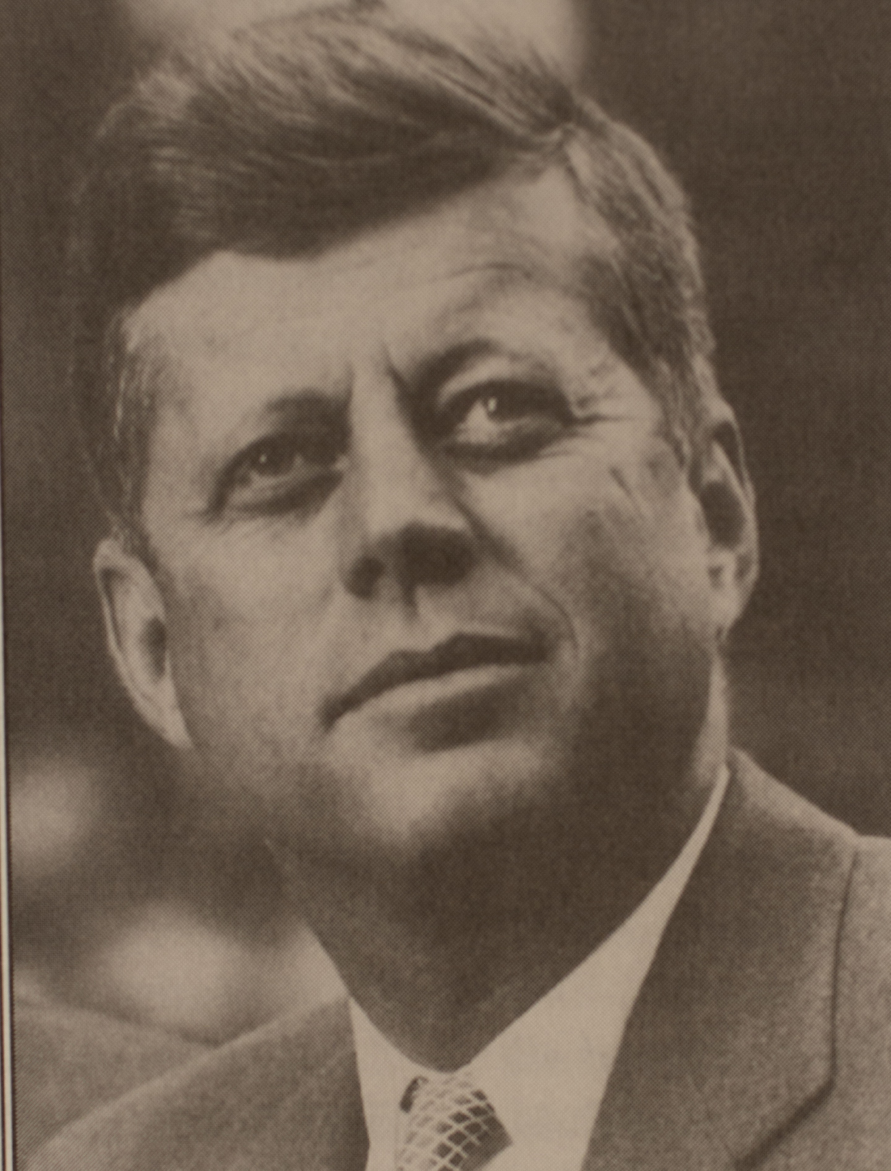 Photograph of President Kennedy