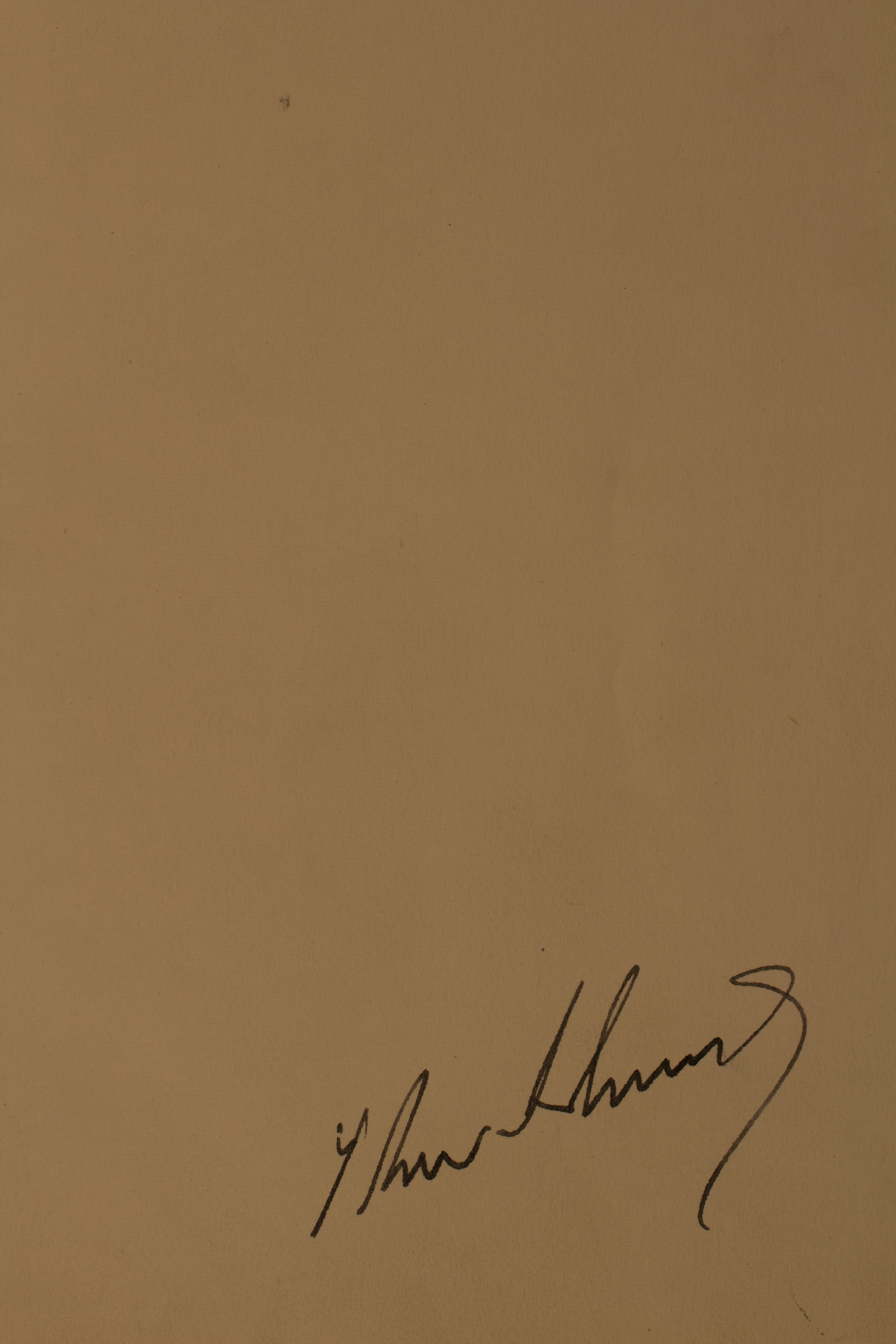 President Kennedy's Signature