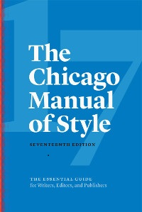 Image of Chicago manual