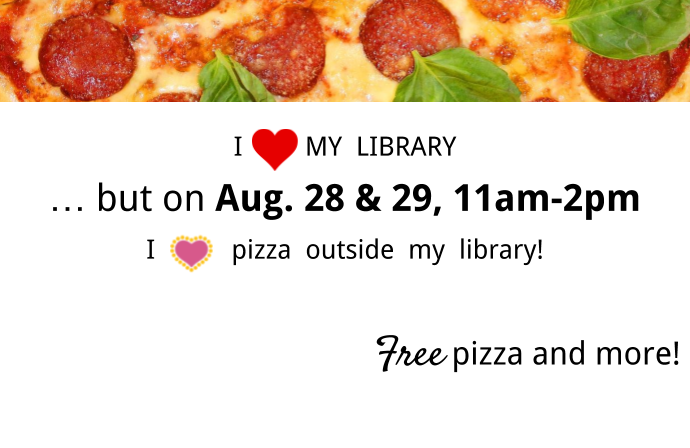 I love My Library Event