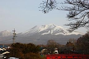Mt. Asama above Naka Karuizawa