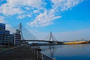 Bridge in daylight