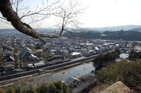 view of tsuyama city