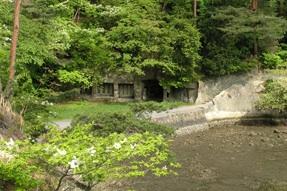 Oshima Island cave