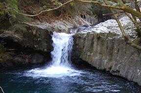 Izu waterfall Hebi Daru