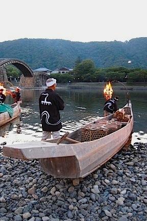 Iwakuni boat