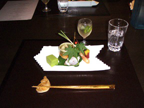 Tosayama kaiseki dishes