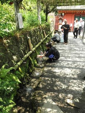 Fujinomiya spring