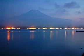 Twilight Fujisan
