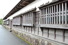 Street in samurai district