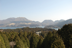 A view from Hakone Pass