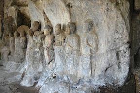 usuki stone carvings