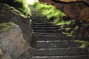 Hitoana stairs