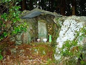 Trail shrine